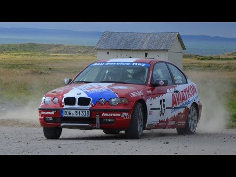 [ONBOARD] 11.  ADAC Ostsee-Rallye 2018 - Alexander Brase - Sarah Nolte - BMW E46 318ti
