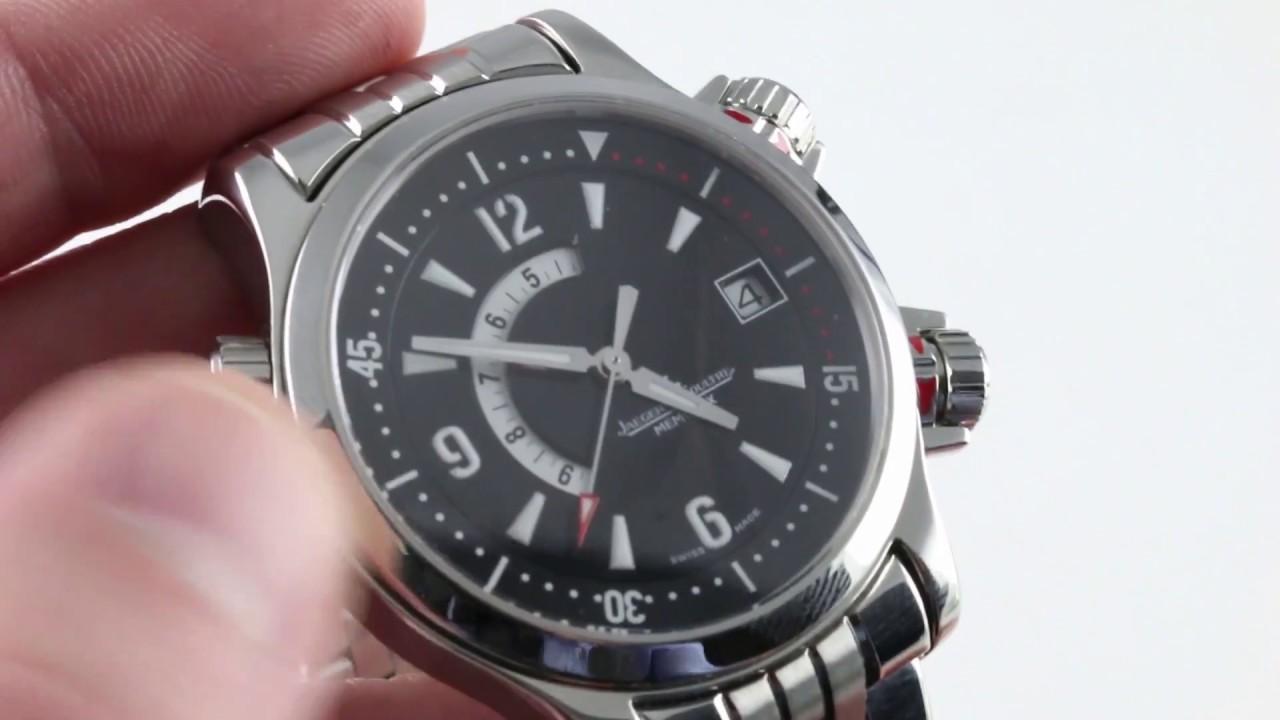 02e4f779997 Jaeger-LeCoultre Master Compressor Memovox 146.8.97 Luxury Watch Review