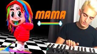 MAMA (instrumental cover) - 6ix9ine ft. Kanye West & Nicki Minaj