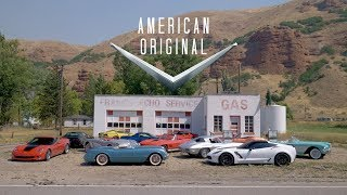 "Driving all Corvettes - ""American Original"" - Official Trailer"
