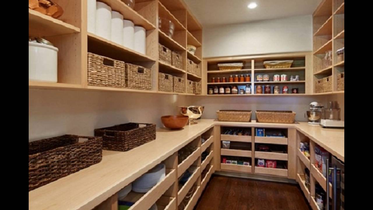Pantry shelving systems youtube for How to build a walk in pantry
