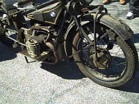 uncrating 1928 bmw r62 motorcycle | 1.888.bmw.bob's | maryland