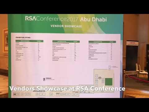 Vendors Showcase at RSA Conference 2017 Abu Dhabi #RSAC