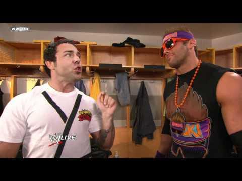 "Raw - Zack Ryder and Santino Marella discuss ""WWE '12"""