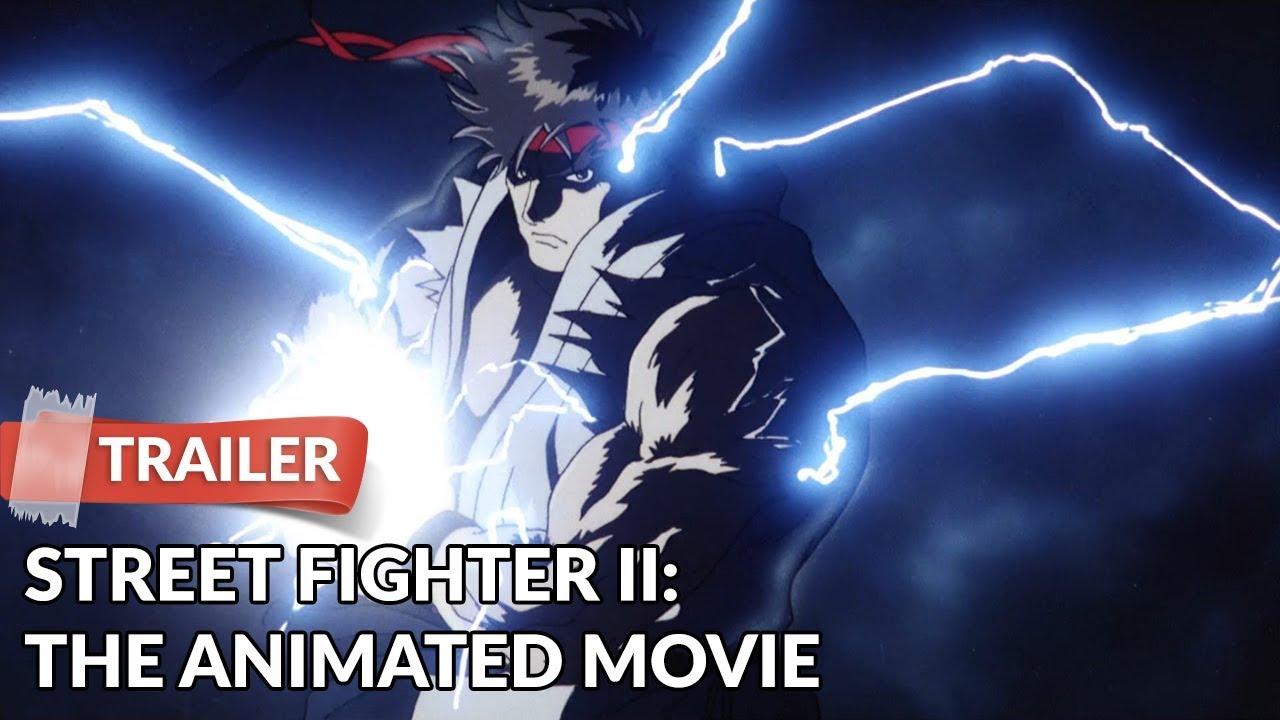 Street Fighter Ii The Animated Movie 1994 Trailer Kojiro