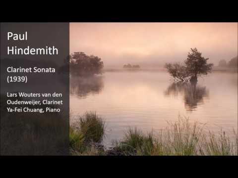 Paul Hindemith - Clarinet Sonata (1939)