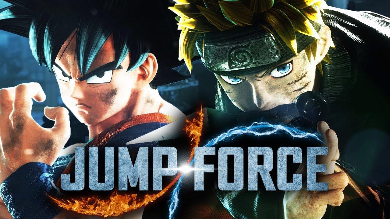 JUMP FORCE : UMA GUERRA ENTRE ANIMES !