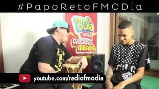 Duduzinho e Ferrugem improvisam funk-rap