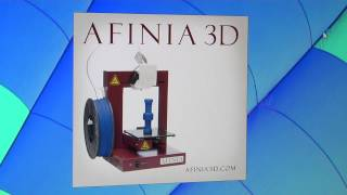 Afinia3D H480 Unboxing Overview