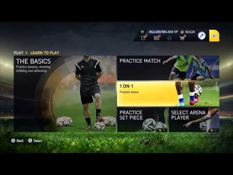 Fifa 15: How To Get On Arena + Create Set Piece