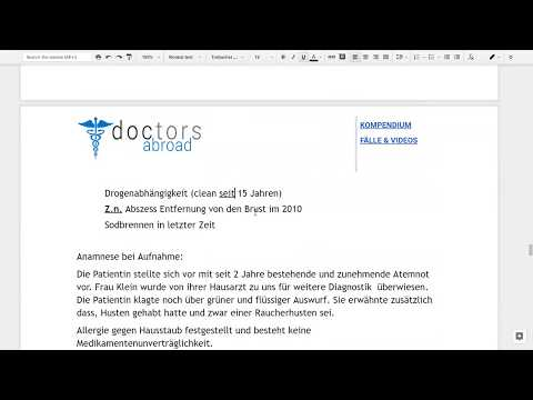 Fall 13   COPD   Arztbrief [Demo] from YouTube · Duration:  6 minutes 44 seconds