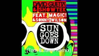 David Guetta & Showtek - Sun Goes Down Ft. MAGIC! & Sonny Wilson (Tom & Jame Remix) [Free Download] Mp3