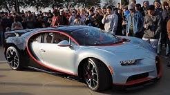 Bugatti Chiron Riot! Cars & Coffee Dallas // February 2018