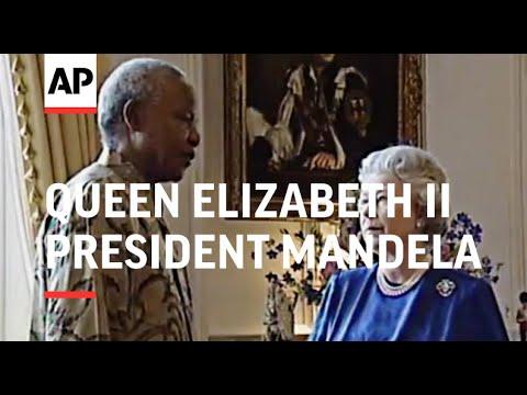 UK: SOUTH AFRICAN PRESIDENT MANDELA MEETS QUEEN ELIZABETH