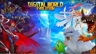 Digital World - Heroes Android Gameplay ᴴᴰ