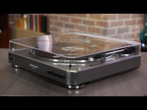The Audio-Technica AT-LP60 is a beginner's turntable for the vinyl revival