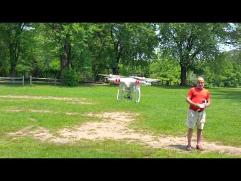 HAVING FUN WITH A DRONE
