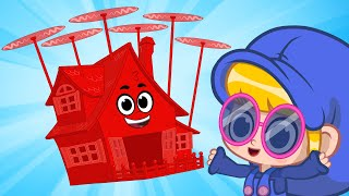 Morphle on Vacation - Flying House | Mila and Morphle | Cartoons for Kids | Morphle TV