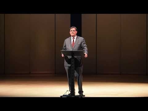 Co-chair Edward Trapunski introduces the 2017 Canadian Jewish Literary Awards