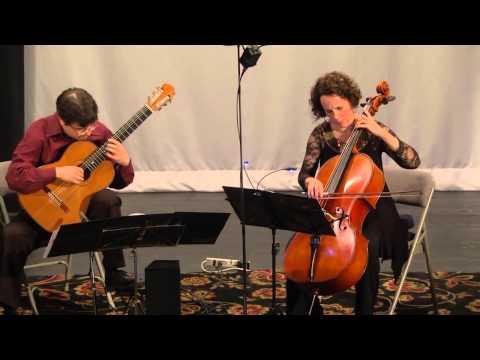 Dusan Bogdanovic: Quatre piéces intimes for cello and guitar (1997), à Valter Despelj