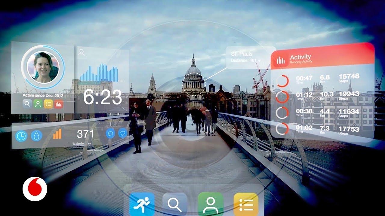 Tu próximo smartphone, en unas gafas inteligentes de realidad virtual