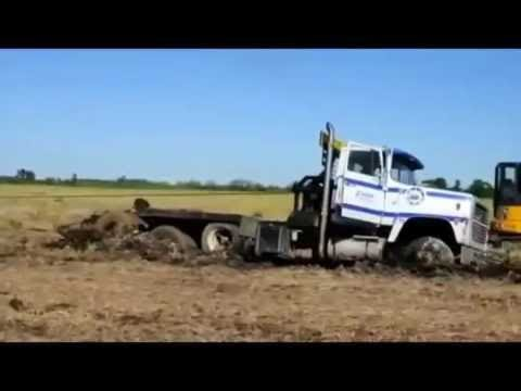 BIG TIRES LITTLE TRUCK VS DEEP MUD!!!