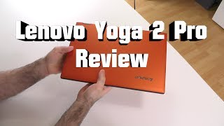 Lenovo Yoga 2 Pro In-depth Review - great idea but...