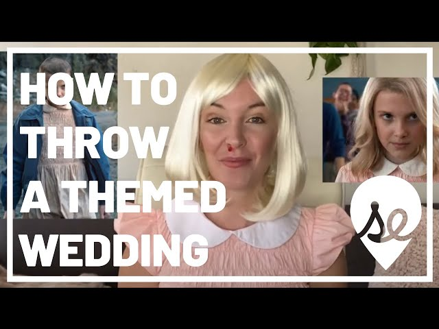 How to Throw a Cosplay or Themed Wedding
