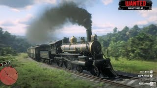 A Train Ride in the Wild West - Red Dead Redemption 2