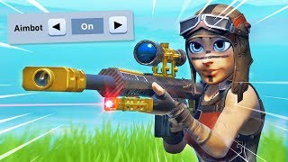 HOW TO USE AIMBOT ON FORTNITE