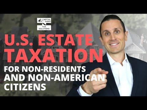 Estate Tax For Non U.S. Citizens