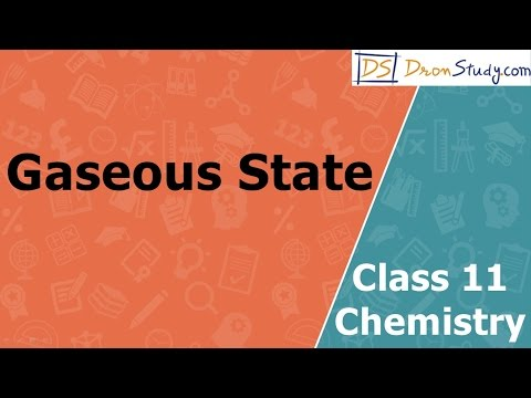 Gaseous State | Class 11 XI Chemistry | CBSE | IIT-JEE | AIPMT
