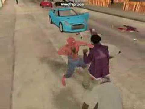GTA San Andreas the Spiderman ( Trochu slabší )