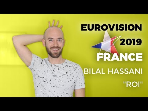 "France – Bilal Hassani ""Roi"" - My reaction (Eurovision 2019)"