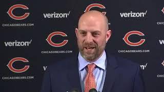 BEARS INTRODUCE NAGY: The Chicago Bears officially introduce Matt Nagy as their new head coach
