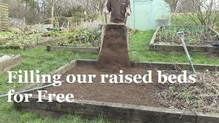 How We Fill Our Raised Beds For Free