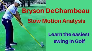 Bryson DeChambeau Slow motion Driver analysis - Mexico WGC 2020