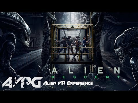 Alien: Descent - Alien Virtual Reality Experience - Alien vs. Predator Galaxy Motion Tracker #5