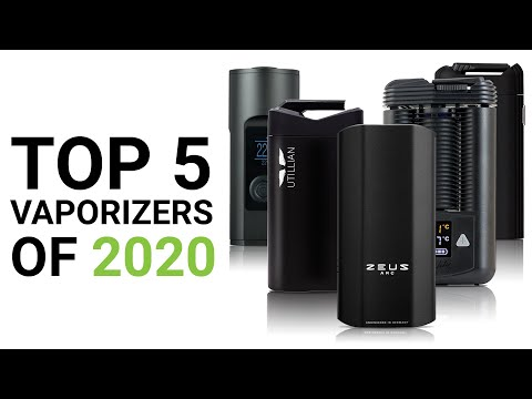 Top 5 Best Dry Herb Vaporizers of 2020