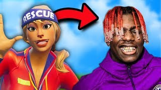 I GOT MATCHED WITH LIL YACHTY IN RANDOM DUOS! | Fortnite Battle Royale