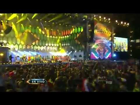 Shakira - Waka Waka (LIVE on Inaugural World Cup 2010 Concert)