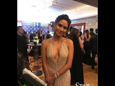 Nabash Ang Gown Ni Erich Gonzales Sa Star Magic Ball