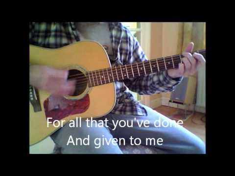 Alter Bridge Wonderful Life Acoustic Guitar
