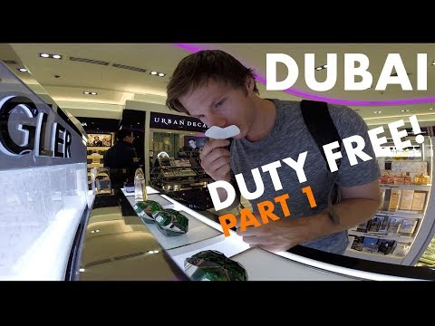 Dubai Duty Free Fragrances Part 1