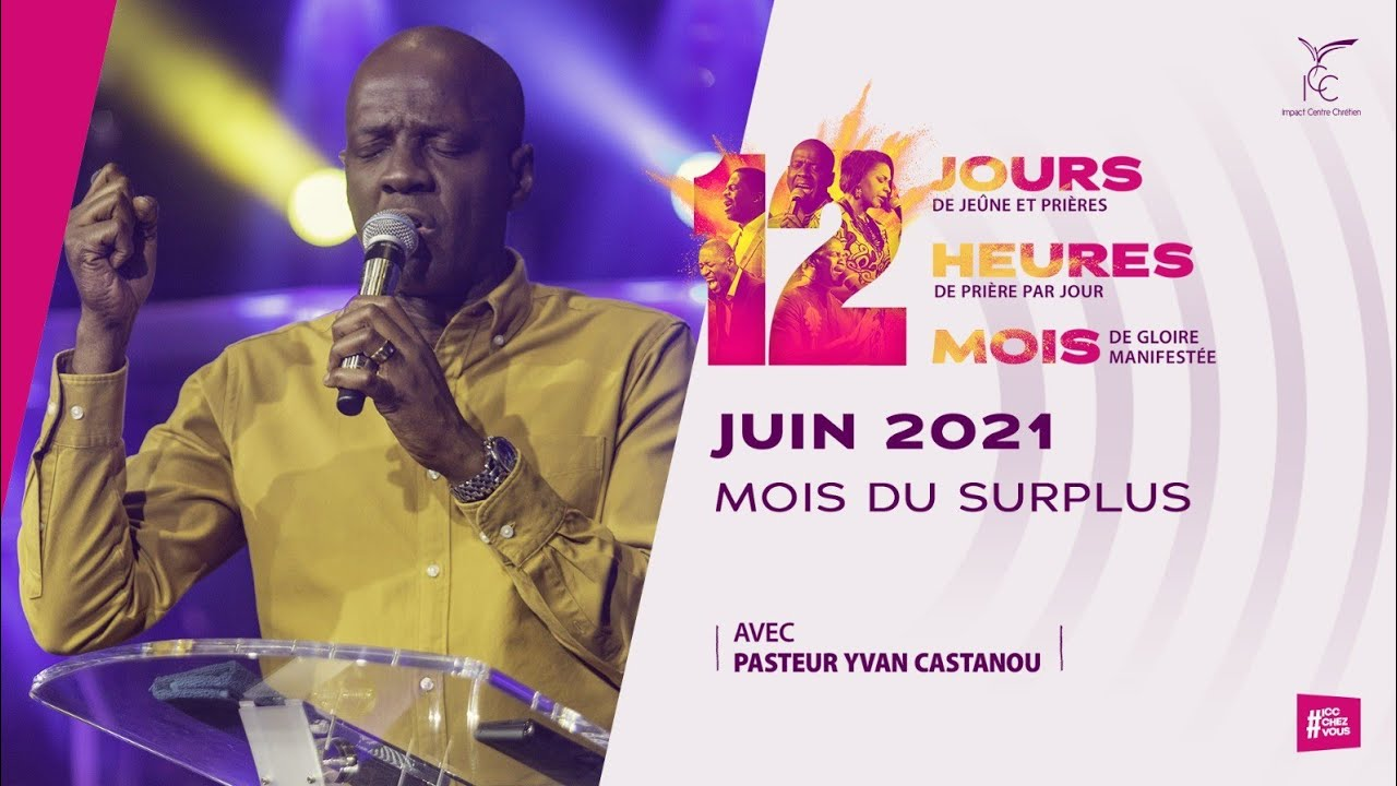 Download Juin 2021 mois du surplus - 12 jours/12 mois de gloire - Pasteur Yvan
