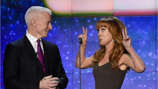 Anderson Cooper Responds To Kathy Griffin's Donald Trump Photo