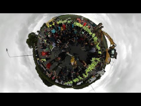 Fylde Anti-Fracking Protest in 360 degrees