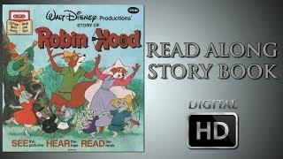 Robin Hood - Leer a lo Largo de la Historia del libro - Digital HD - Brian Bedford - Phil Harris - Roger Miller