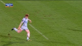 Rhys Patchell recovers but drop goal blown -  Munster v Cardiff Blues 05 Jan 2013 RaboDirect Pro12