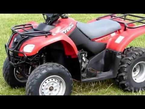 Suzuki Ozark 250 for sale £1400 + VAT - YouTube